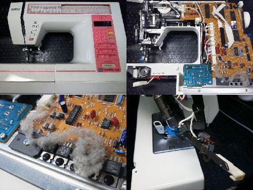 ブラザーミシン修理|コンパルアルファ2|ZZ3-B861