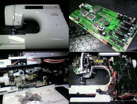 ブラザーミシン修理|SAMANSA ZZ3-B896|修理詳細画像
