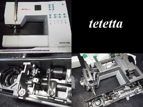 ベルニナ製リッカーミシン修理|BERNINA130