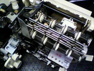 BABYLOCKロックミシン修理|縫工房|BL75|分解