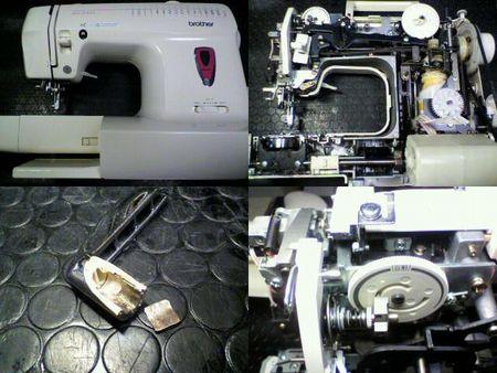 ブラザーミシン修理|BS-2000 EL6981|修理詳細画像
