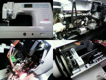 ジャノメミシン修理|CK1100|修理詳細画像