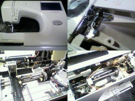 ジャノメミシン修理|セシオEX 9000型|修理詳細画像