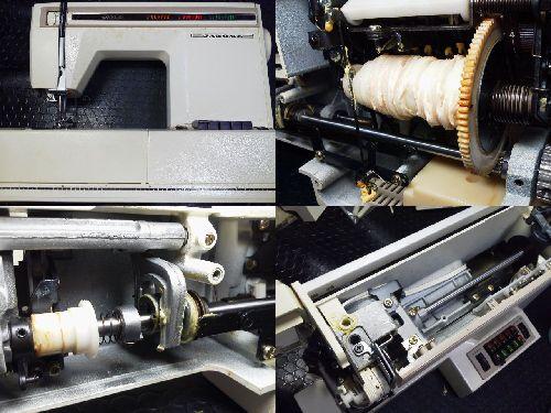ジャノメミシン修理|EXCEL20|model627