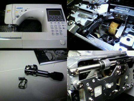 JUKIミシン修理|エクシード HZL-F400JP|修理詳細画像