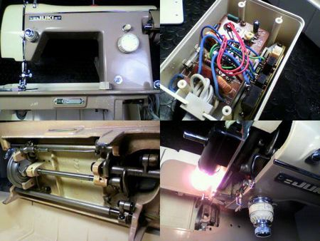 JUKIミシン修理|HA-302|修理詳細画像