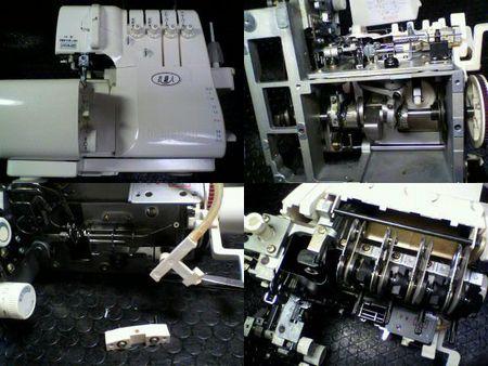 ベビーロック修理|衣縫人|修理詳細画像