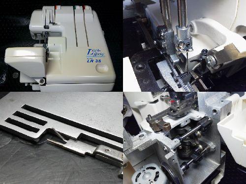 ジューキロックミシン修理|LittleRocky|LR3S