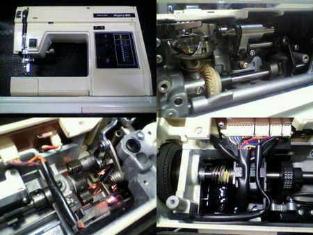 リッカーミシン修理|Mighty80|修理詳細画像