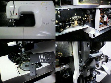 アックスヤマザキミシン修理|MS-6000|修理詳細画像