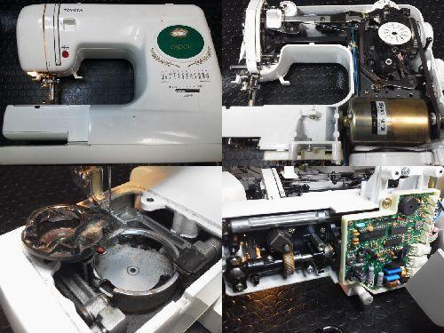 トヨタミシン修理|MX8700/