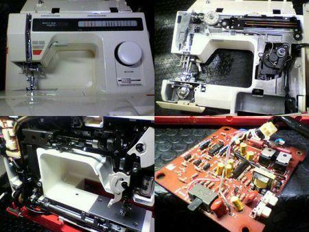 リッカーミシン修理|NC3|修理詳細画像