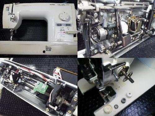 BROTHER職業用ミシン修理|Nouvelle300|TA3-B629
