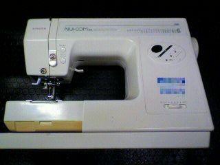 シンガーミシン修理|Nui-COM DX 5550