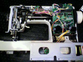 SINGERミシン修理|Nui-COM DX 5550|オーバーホール