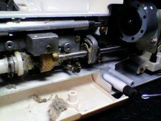 シンガー修理|Nui-COM DX 5550|下軸