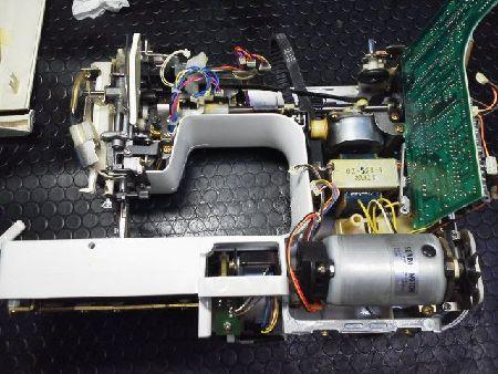 JUKIミシン修理|PARFAIT33|HZL-33|分解