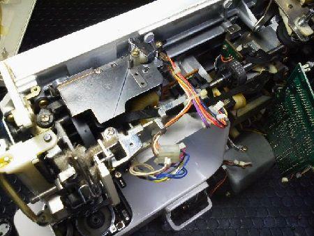 JUKI修理|EXCEL|パルフェ33|上軸