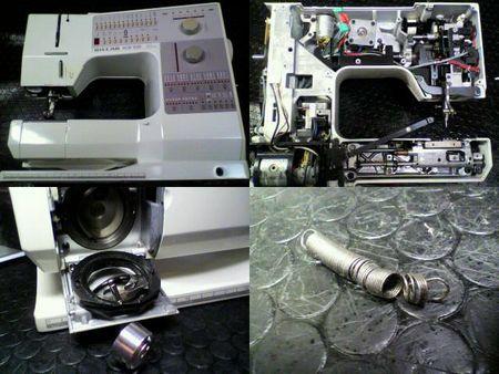 ジャノメミシン修理|S7700|修理詳細画像