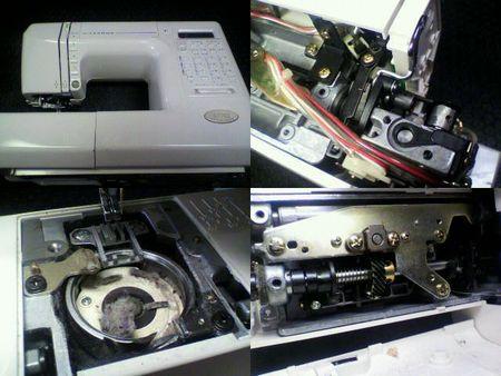 ジャノメミシン修理|S7702|修理詳細画像