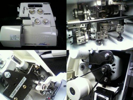 TOYOTAロックミシン修理|SL777DX|修理詳細画像