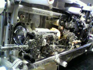 JUKI職業用ミシン修理|SPUR98specialN|TL-98SPN|下軸