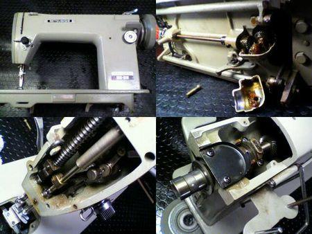 三菱職業用ミシン修理|TA-310|修理詳細画像