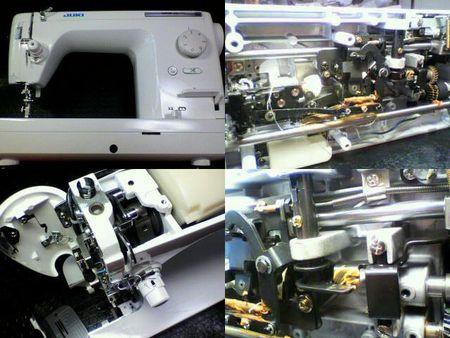 JUKI職業用ミシン修理|TL-25DX|修理詳細画像