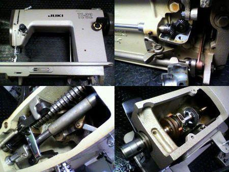 JUKI職業用ミシン修理|TL-82|修理詳細画像