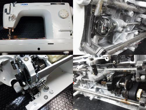 JUKI職業用ミシン修理|SPUR98|TL-98