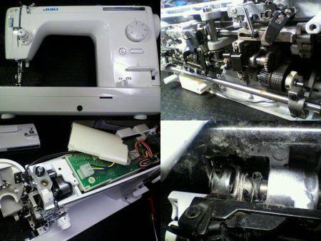 JUKI職業用ミシン修理|SPUR25SP TL-25SP|修理詳細画像