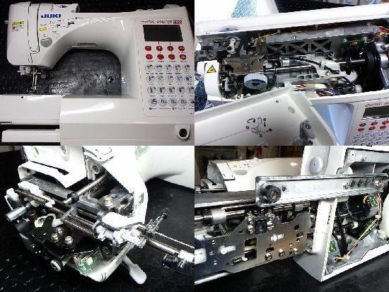 HZL-F3000/JUKIミシン修理