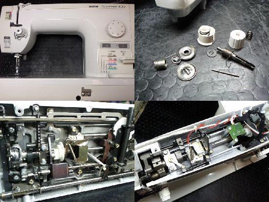 TA635/Nouvelle400/ブラザーミシン修理