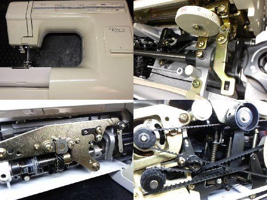 プレール18/643型/ジャノメミシン修理