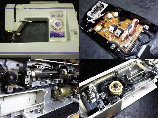 newrumina1610U/ミシン修理/SINGER