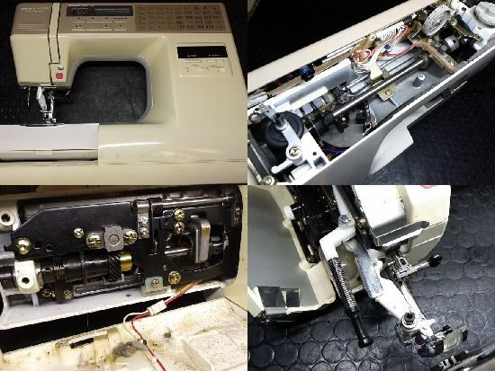 センサークラフト7500/ジャノメミシン修理