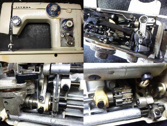 ジャノメトピア801修理