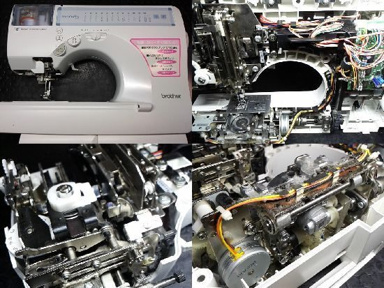ブラザーCPS03のミシン修理