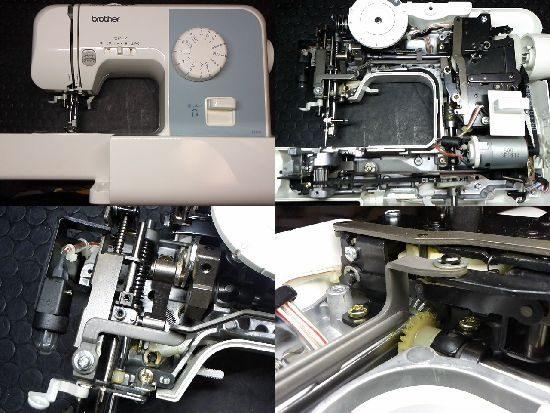 ブラザーEL117/ミシン修理