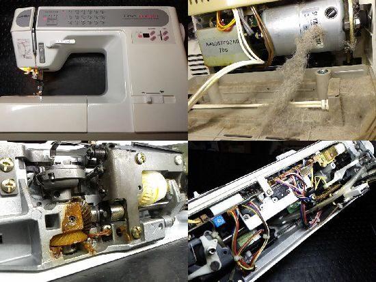 HZL-7600/JUKIミシン修理