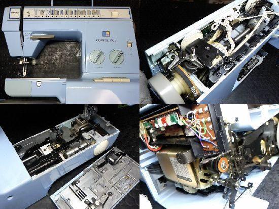 コンパルエース/ZZ3-B766/ミシン修理