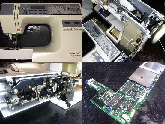 センサークラフト7300/ジャノメ/ミシン修理