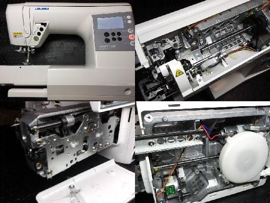 JUKIミシン修理/グレース100/HZL-G100