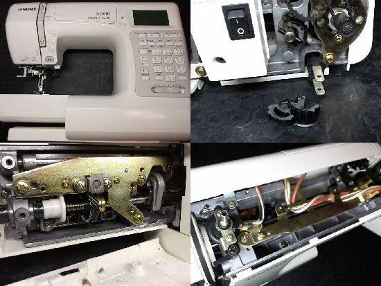 ミシン修理/JANOME/S7800