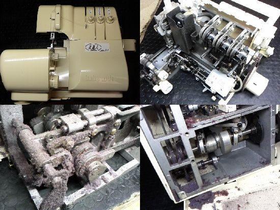 BL33/ジューキ/ベビーロック/ミシン修理