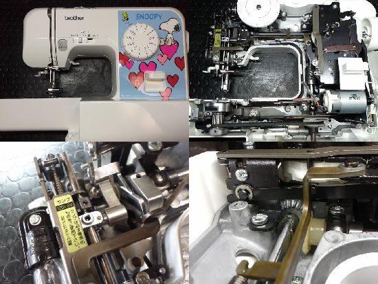 ブラザーEL115/ミシン修理