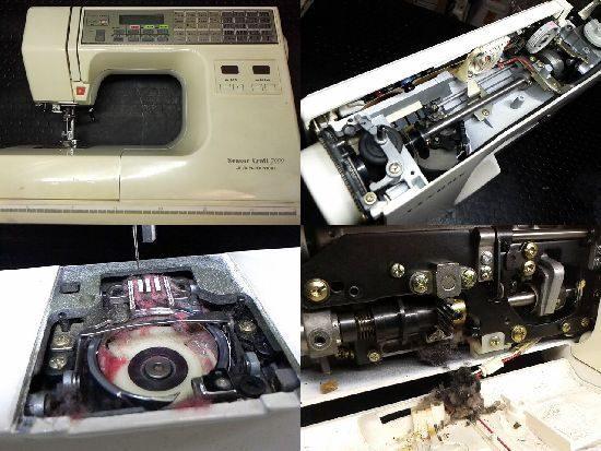 センサークラフト7000/ジャノメミシン修理