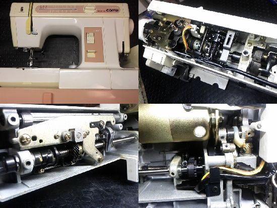 ミシン修理/コンビ2300SX/JANOME