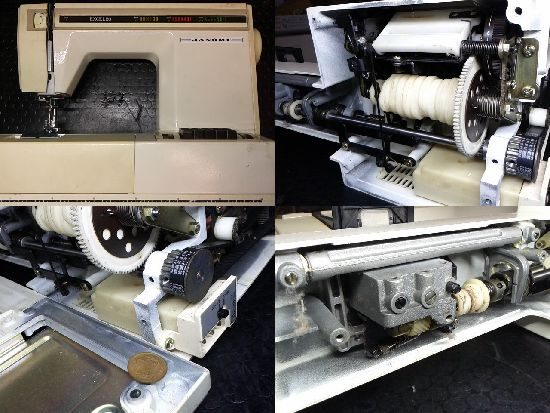 ミシン修理/エクセル20