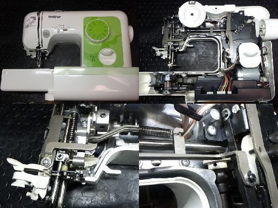 ELU52/ブラザーミシン修理